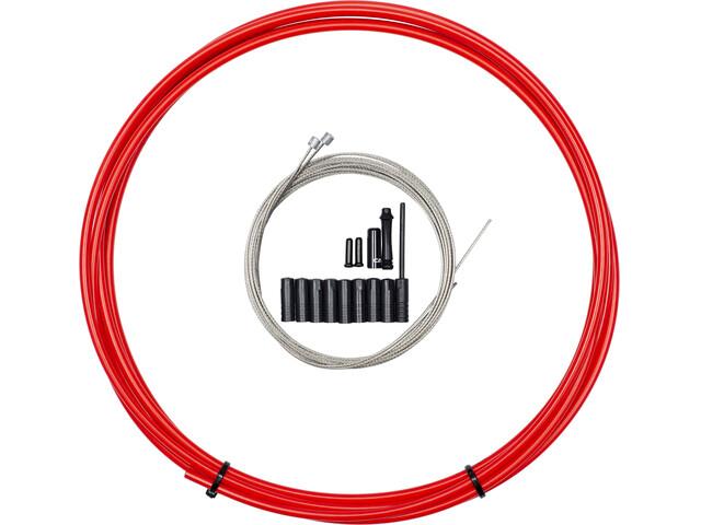 capgo BL Schaltset lang für Shimano/Sram MTB & ATB/Road Rot